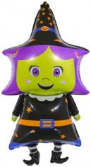 Шар Фигура, Маленькая ведьмочка (в упаковке)