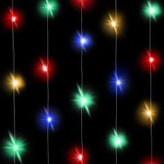 Светодиодная нить Разноцветного свечения 30 Led
