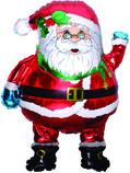 Шар Фигура, Дед мороз / Santa (в упаковке)