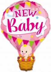 Шар Фигура, Воздушный шар для девочки, Розовый