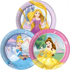 Тарелки одноразовые Принцессы Дисней / Princess Heartstrong
