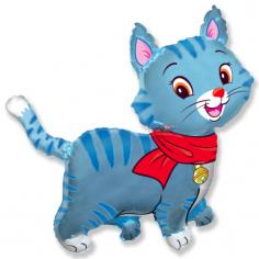 Шар Фигура, Мой милый котенок (Голубой) / Lovely Cat (в упаковке)