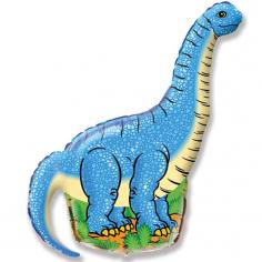 Шар Мини-фигура Диплодок, Синий / Diplodocus (в упаковке)