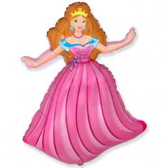 Шар Мини-фигура Принцесса / Princess (в упаковке)