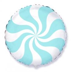 Шар Круг, Леденец Голубой (в упаковке)