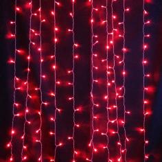 Светодиодная (LED) гирлянда Красная