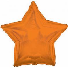 Шар Звезда Оранжевый / Orange
