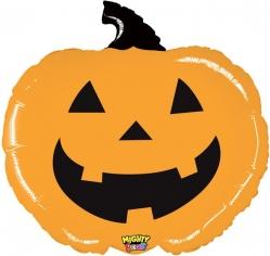 Шар Фигура, Тыква на Хэллоуин, Оранжевый (в упаковке)