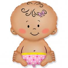 Шар фигура, Малышка / Baby Pink (в упаковке) Старая!