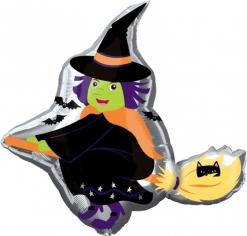 Шар Фигура, Ведьма на метле (в упаковке)