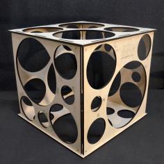Калибратор Кубический разборный от 5 до 25 см / 32 отверстия