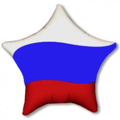 Шар Звезда, Триколор (флаг России)