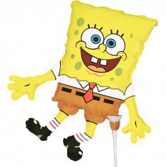 Шар Мини-фигура Губка Боб / Sponge Bob square pants (в упаковке)