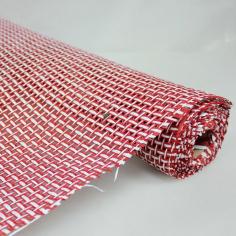 Сетка Бумажная 2-х цветная Красная