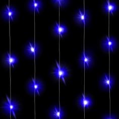 Светодиодная нить Голубого свечения 30 Led
