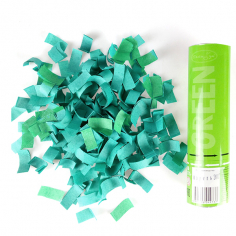 Пневмохлопушка Зеленое конфетти