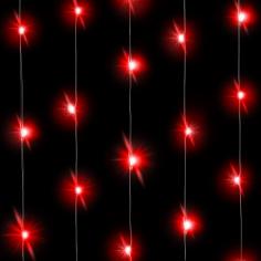 Светодиодная нить Красного свечения 30 Led