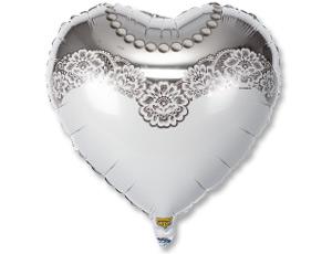 Шар Сердце, Невеста (в упаковке)