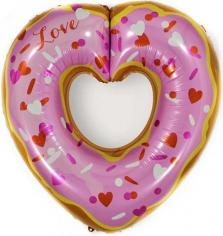 Шар Сердце, Пончик (в упаковке)