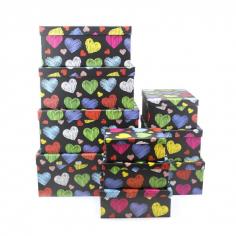 Набор подарочных коробок 10 в 1