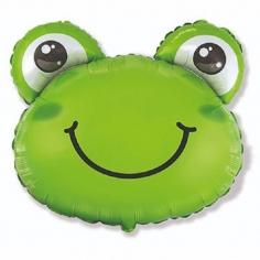 Шар Мини-фигура, Голова Лягушонка (в упаковке)