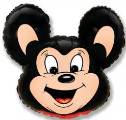 Шар фигура, Мощный мышонок / Mouse (чёрный) (в упаковке)