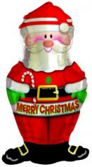 Шар фигура, Дед Мороз (в упаковке)