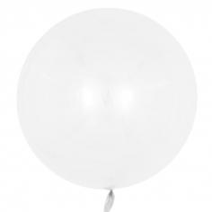 Шар Сфера 3D, Deco Bubble, Белый, Глянец (в упаковке)