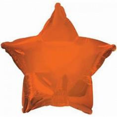 Шар Звезда Темно-Оранжевый / Orange