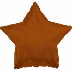 Шар Звезда Коричневый / Brown