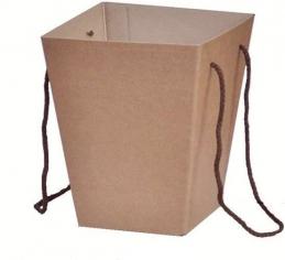 Коробка для цветов Крафт