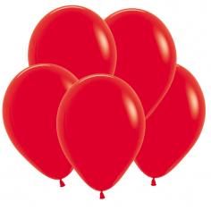 Шар Пастель Красный / Red 015