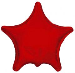 Шар Звезда, Остроконечная, Красный / Red (в упаковке)