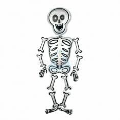 Ходячая Фигура, Скелет Мистер Скелли (в упаковке)