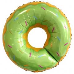 Шар Фигура Пончик, Зеленый