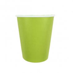 Стаканы бумажные Зеленый / Green
