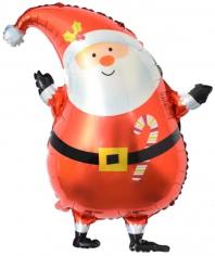 Шар Фигура, Санта в красном колпачке (в упаковке)
