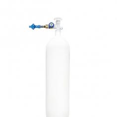 Экономичная насадка для баллона для надувания 60/40 (гелий/воздух) с манометром
