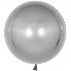 Шар Сфера 3D, Deco Bubble, Серебро (в упаковке)