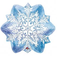 Шар Фигура, Снежинка / Snowflake (в упаковке)