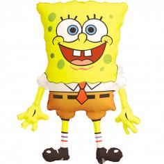 Шар Фигура Губка Боб Квадратные штаны / Spongebob Squarepants (в упаковке)