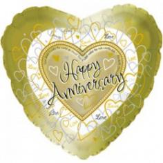 Шар Сердце, С годовщиной свадьбы, Золото