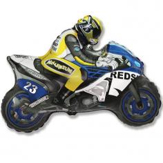 Шар Мини-фигура Мотоцикл, Синий / Motorbike (в упаковке)