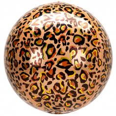 Шар Сфера 3D Леопард принт / 3D Leopard print (в упаковке)