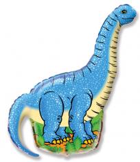 Шар Фигура, Диплодок (синий) / Diplodocus (в упаковке)