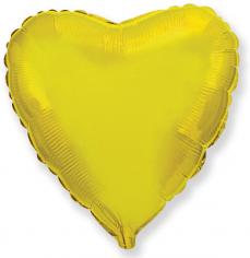 Шар Сердце, Золото / Gold (в упаковке)