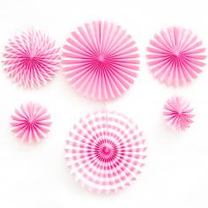 Набор дисков, Микс, Розовый, 6 шт.