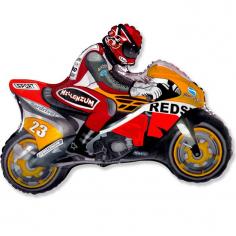 Шар Мини-фигура Мотоцикл, Оранжевый / Motorbike (в упаковке)