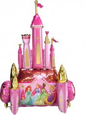 Шар Ходячая фигура, Замок Принцессы (в упаковке)