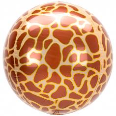 Шар Сфера 3D Жираф принт / 3D Giraffe print (в упаковке)